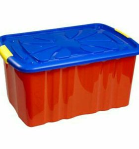 Ящик - контейнер для игрушек на колесиках