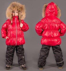 Куртка зимняя новая р.116-122