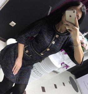 Платье шанелька