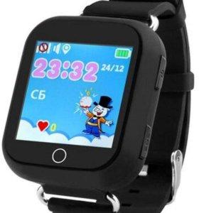 Умные детские часы gps smart baby watch q 100