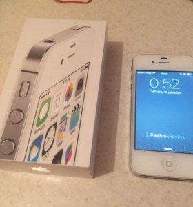 apple iPhone 4s white