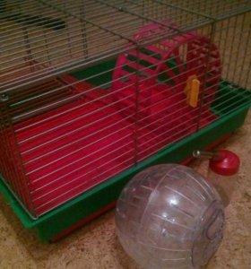 Клетка для хомяка, крысы