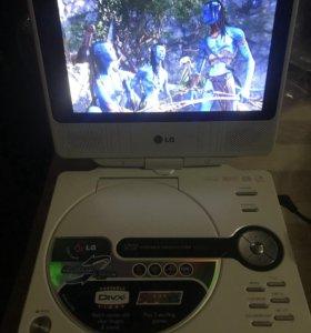 Портативный DVD-плеер LG DP-172BP