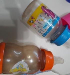 Бутылочки с сосками