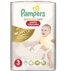 Подгузники-трусики pampers premium care