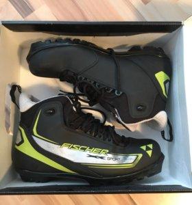 Ботинки лыжные Fisher