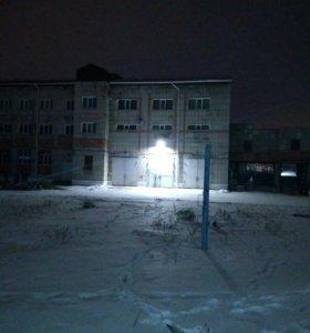 Уличные светильники.