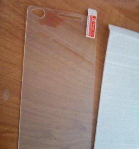 Защитное стекло на телефон Sony Xperia C4
