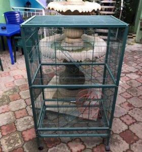 Большая клетка для грызунов и для птиц