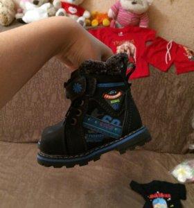 Новые ! Зимние ботинки для малыша