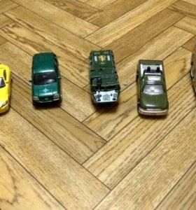 Машинки металлические б\у