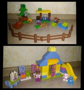 5 наборов lego duplo