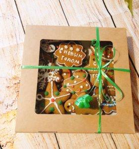 Имбирное печенье - отличный подарок на Новый Год!