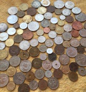 Монеты иностранные без повторов