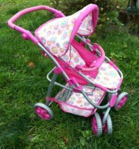 Детская игрушечная коляска.Состояние новой коляски
