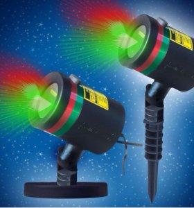 Проектор star shower laser light