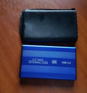 Переносной жесткий диск (внешний накопитель) 640Гб