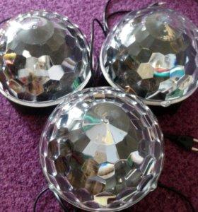 Дискотечный светодиодный шар