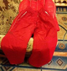 Куртка зимняя и ватные зимние штаны