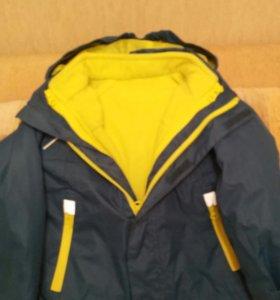Куртка 3в1 на 3-4г