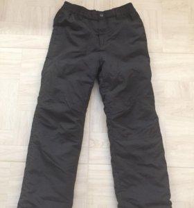 Зимние штаны,рост 134