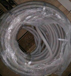 Трубая гофрированная для электропроводки