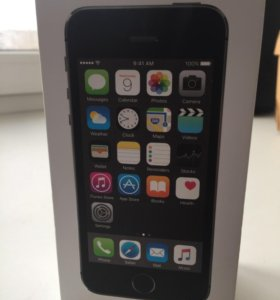 Коробка от iPhone 5 s