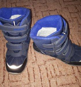 Продам мембранные зимние ботинки