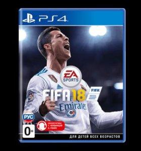 PS4 Fifa 18 Новый Диск