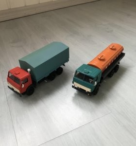 Модели автомобилей 1:43 камаз 53212, 5320