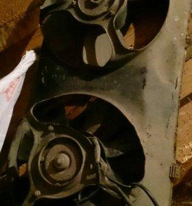 Вентилятор радиатора ауди б3, б4