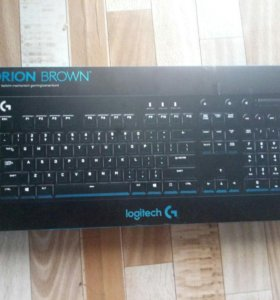 Logitech G610 Orion Cherry MX Brown Black USB