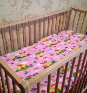 Кроватка ikea