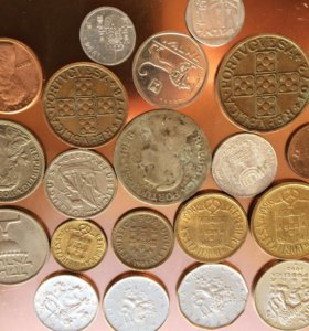 Иностранные Монеты без повторов 20 шт.
