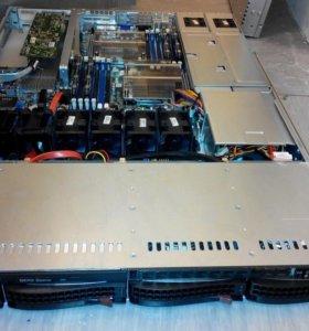 Сервера Supermicro 2 х Intel Xeon E5620