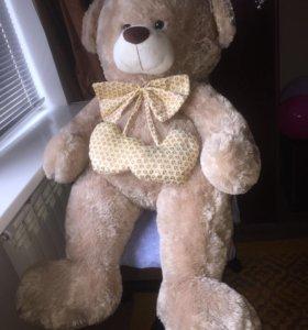 Мягкая игрушка большой медведь 140см на подарок