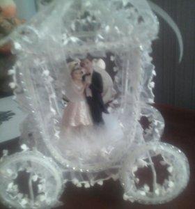 Украшение на свадебный торт