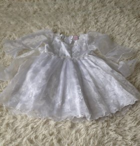 Нарядное платье б/у на 3-4 года