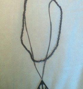 «Дары смерти», подвеска с двумя цепями