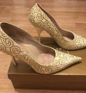 Новогодние, праздничные туфли