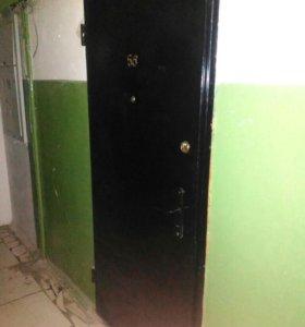 Входная металлическпя дверь