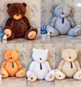 Плюшевые великаны, медведи Тедди