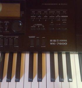 Синтезатор CASIO VK 7600