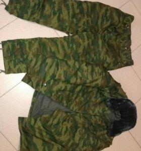 Зимний костюм Флора армейский