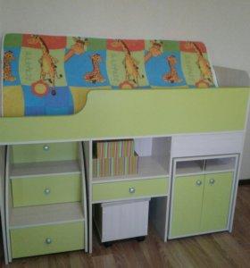 Универсальная кровать - стенка