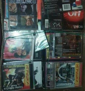 Продам диски касеты