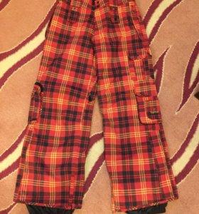 Новые сноубордические /горнолыжные брюки Burton