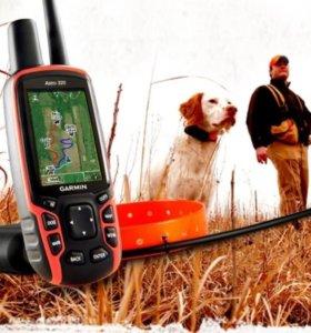 GPS навигатор GARMIN ASTRO 320 + ошейник T5