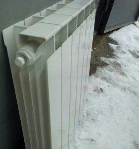 Радиатор отопления шестисекционный биметаллический