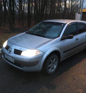 Renault Megane 2, пробег 165000